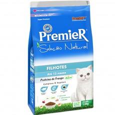 Ração Premier Seleção Natural para Gatos Filhotes Até 12 Meses 1,5Kg