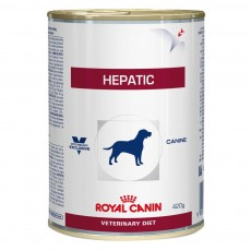 Ração Royal Canin Veterinary Diet Hepatic Wet - 420gr